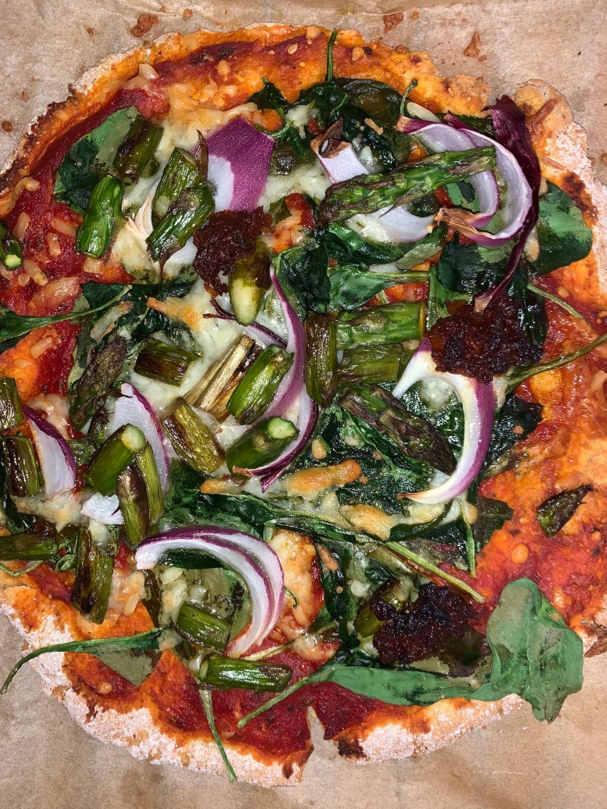 Food Check: Pizza Rezept mit Kichererbsenmehl